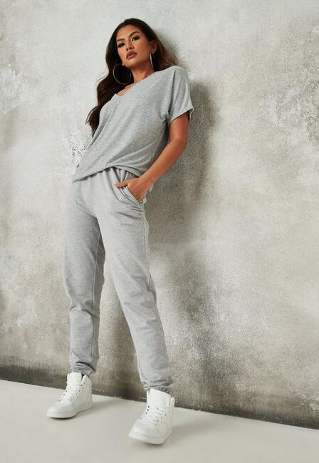 Missguided - Grey Basic Joggers
