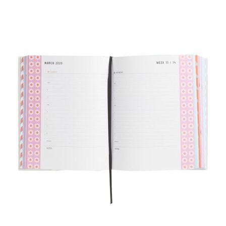 KIKKI.K - kikki.K 2020 Cute Daily Diary Large Be Kind White