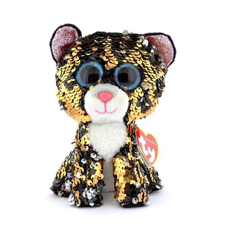 TY - Beanie Boos Flippable Sterling the Leopard Plush
