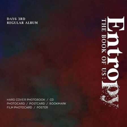 JYP ENTERTAINMENT - Day6 The Book Of Us Entropy | Day6