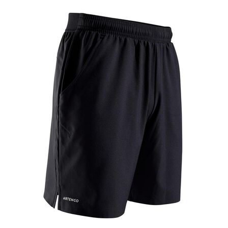 ARTENGO - Small  Dry 500 Tennis Shorts, Black