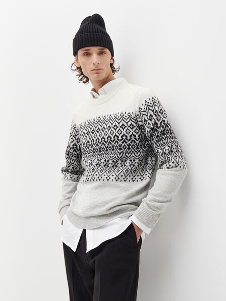 Reserved - Men's Sweater - Grey