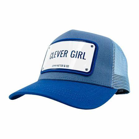 JOHN HATTER & CO - John Hatter Clever Girl Women's Cap Blue