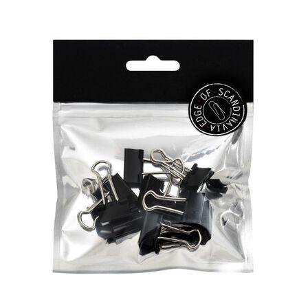 BNT STATIONERY - BNT 19mm Edge Paper Binder Black [10 Pack]