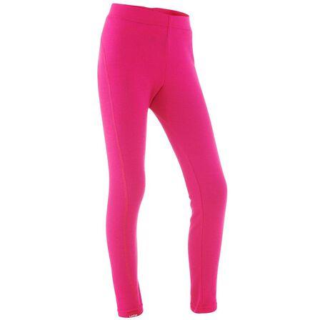 WEDZE - 8-9Y Kids' Ski Underwear Bottom 100 - Pink - Fuchsia