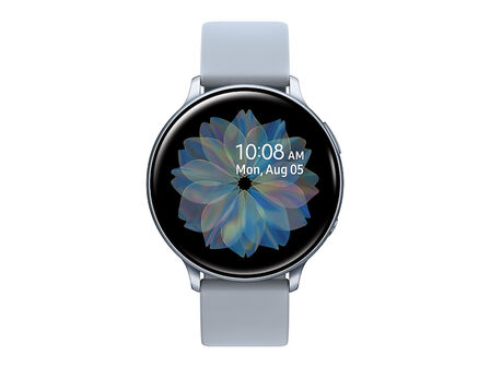 SAMSUNG - Samsung Galaxy Watch Active 2 44mm Aluminium Silver