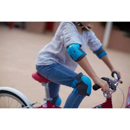 B TWIN - Children's bike protection kit xs - blue