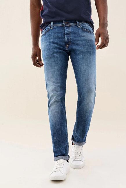 Salsa Jeans - Blue Slender slim jeans in light colour