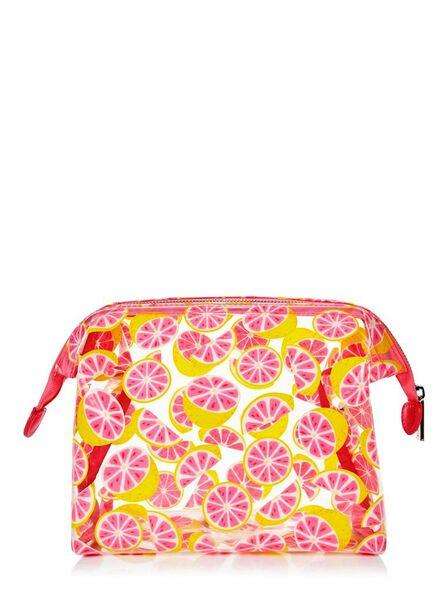 SKINNY DIP - Skinny Dip Washbag Glitter Grapefruit