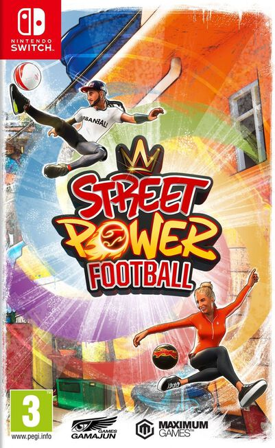 MAXIMUM GAMES - Street Power Football - Nintendo Switch