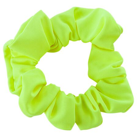 NABAIJI - 4-14 Years  Girls' Swimming Hair Scrunchie, Fluo Yellow