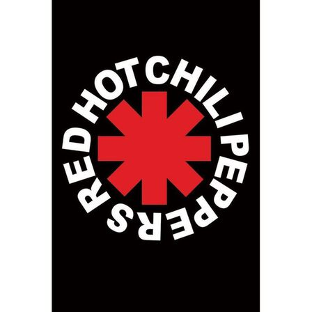 PYRAMID POSTERS - Red Hot Chili Peppers Logo Maxi Poster