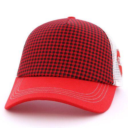 B180 CAPS - B180 Sign 8 Unisex Cap Red/White
