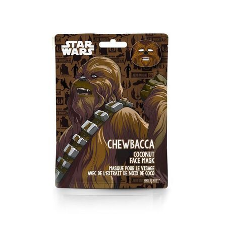 MAD BEAUTY - Mad Beauty Star Wars Face Mask Chewbacca 12PC