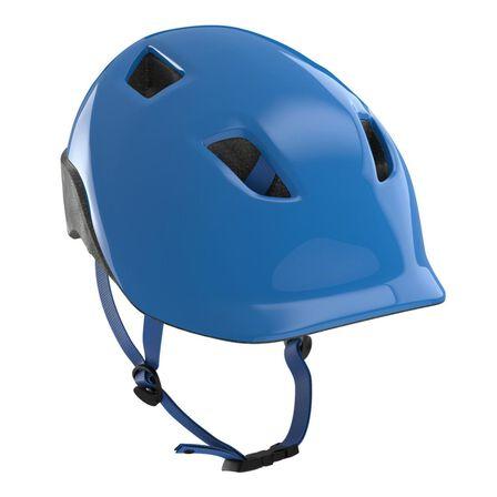 BTWIN - XS/48-52cm  500 Kids' Cycling Helmet - Neon, Electric Blue