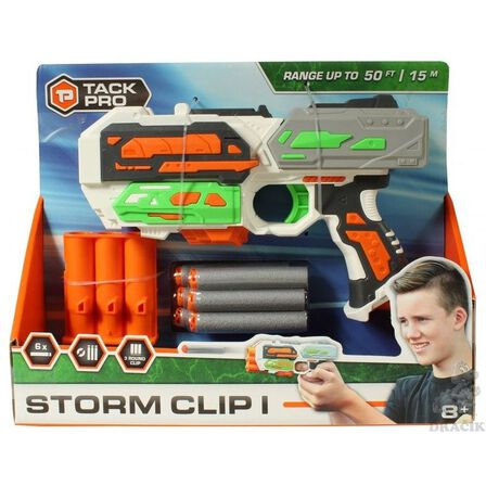 TACK PRO - Tack Pro Storm Clip I With 3 Round Clip And 6 Darts