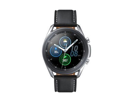 SAMSUNG - Samsung Galaxy Watch 3 SS 45mm Silver + JBL TWS T120 Blue In-Ear Earphones