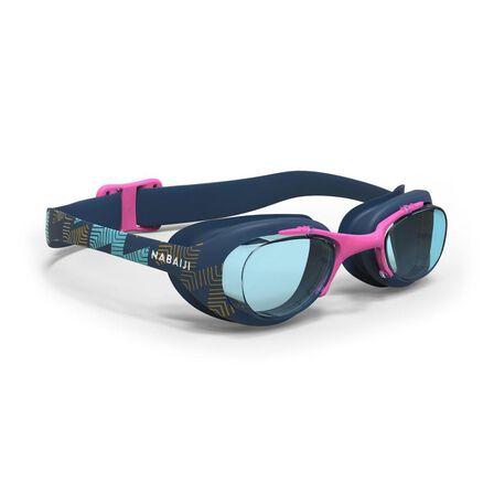 NABAIJI - L Xbase Lasso Swimming Goggles - Navy Blue