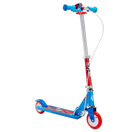 OXELO - Play 5 Kids' Scooter With Brake - Blue