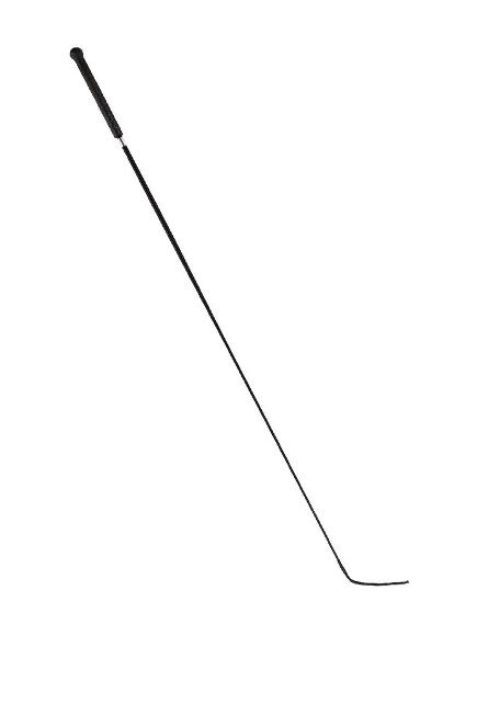 NO BRAND - Eco 110cm Horse Riding Dressage Crop - Black, Unique Size
