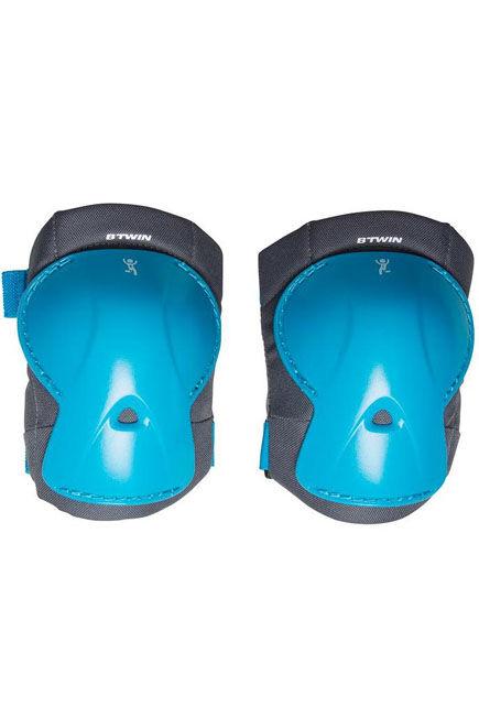 BTWIN - Children's bike protection kit xs - blue, Unique Size