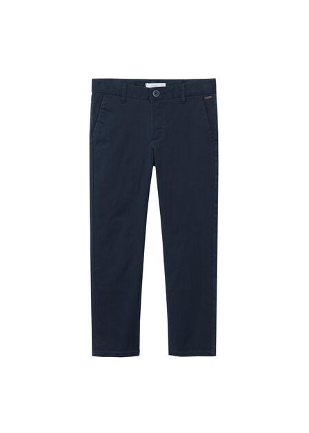 Mango - navy Straight trousers