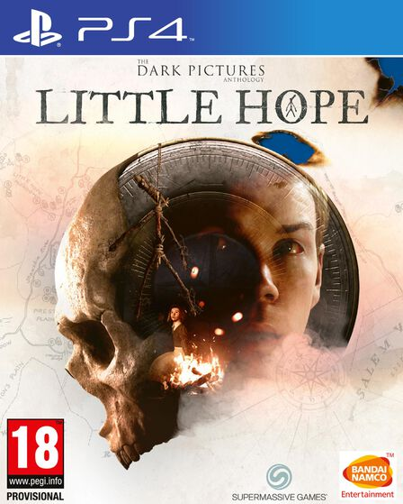 NAMCO BANDAI - The Dark Pictures Anthology Little Hope - PS4