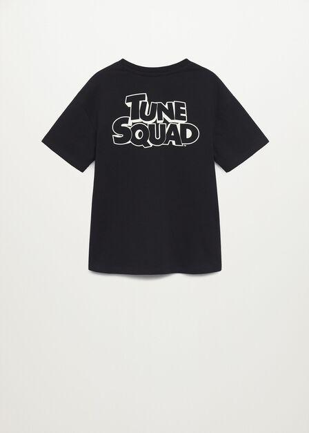 Mango - black Taz cotton t-shirt, Kids Boy