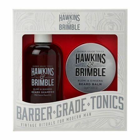 HAWKINS & BRIMBLE - Hawkins & Brimble Beard Gift Set Beard Shampoo & Balm