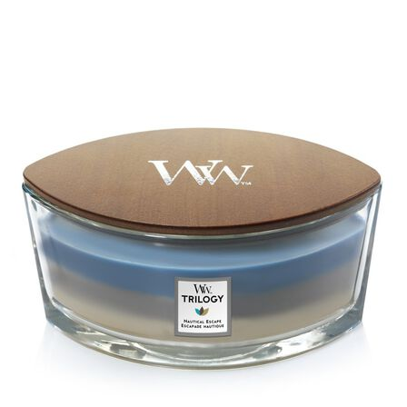 WOOD WICK - Woodwick Trilogy Ellipse Jar Nautical Escape