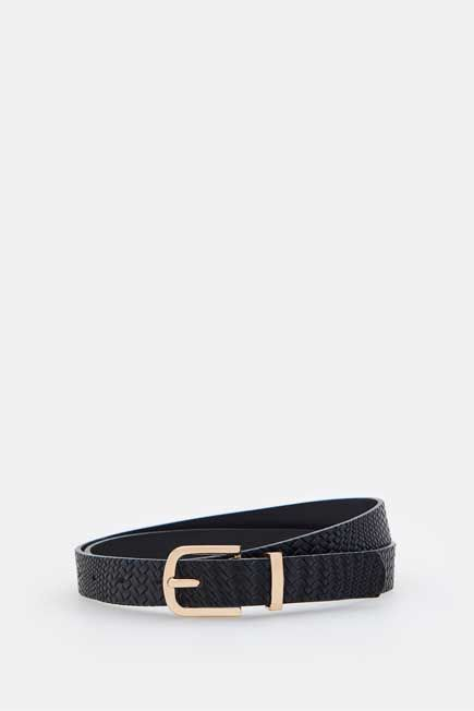 Mohito -  Structured Belt - Black