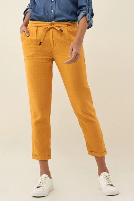 Salsa Jeans - Yellow June linen joggers