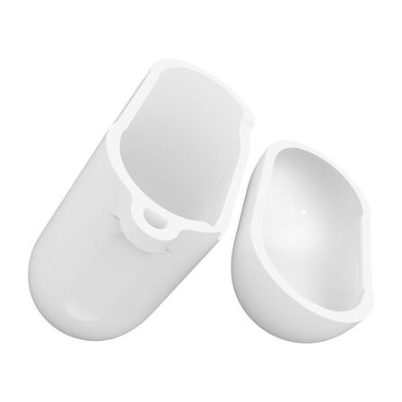 SPIGEN - Spigen Silicone Case White for AirPods
