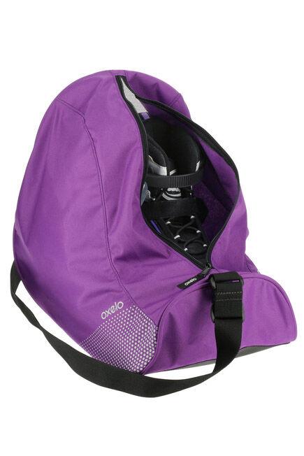 OXELO - 26 Litre Inline Skate Bag Fit - Purple, Unique Size