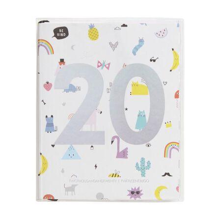 KIKKI.K - kikki.K 2020 Cute Weekly Diary Small Be Kind White
