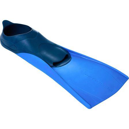 NABAIJI - EU 36-37  Trainfins Long Swim Fins, Blue