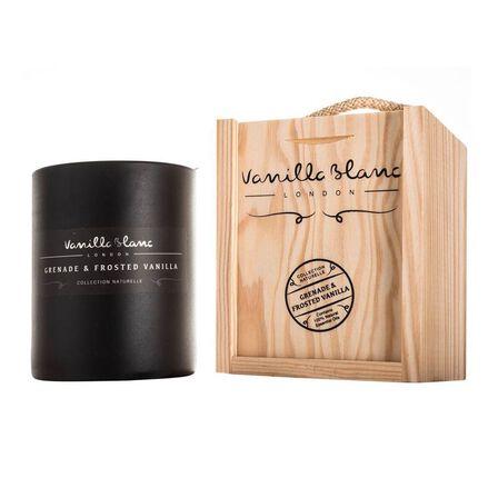 VANILLA BLANC - Vanilla Blanc Matt Edition Candle Grenade & Frosted Vanilla