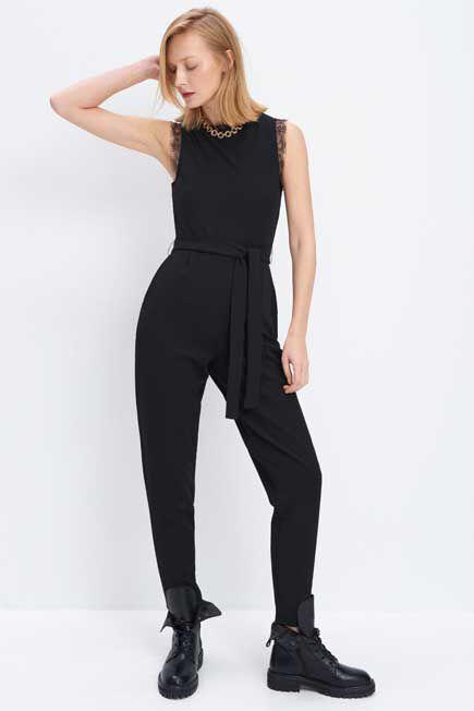Mohito - Tie Jumpsuit - Black