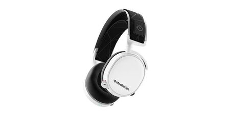 STEELSERIES - SteelSeries Arctis 7 White 2019 Edition Gaming Headset