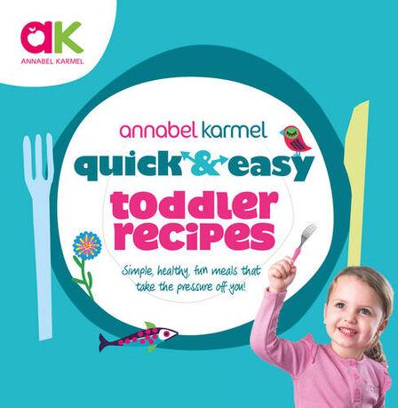 RANDOM HOUSE UK - Quick & Easy Toddler Recipes