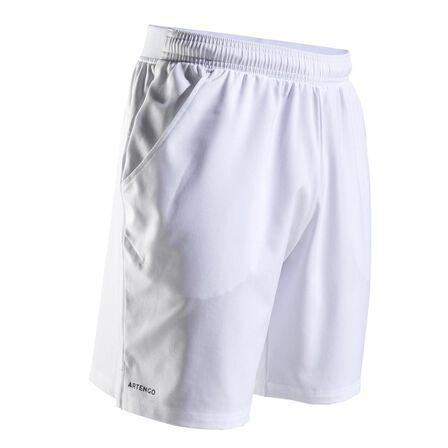ARTENGO - Extra Large  Dry 500 Tennis Shorts, Snow White