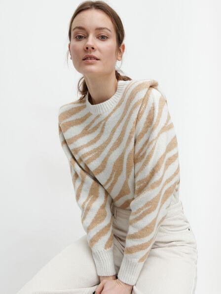 Reserved - Beige Alpaca Wool Blend Jumper, Women