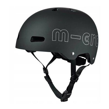 MICRO - Micro Black Ac-2097-L Helmet (5-9 Years)