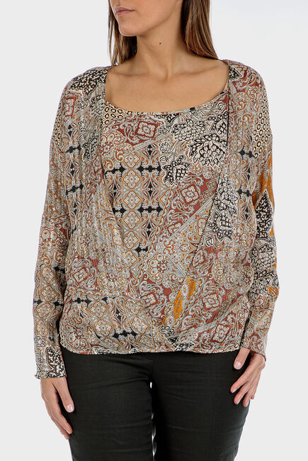 Punt Roma - Faux printed twinset