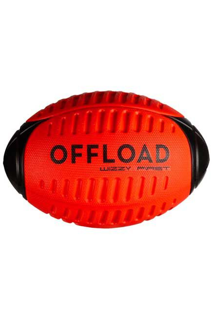 OFFLOAD - Foam recreational ball Wizzy r100 size 3 - red, 3