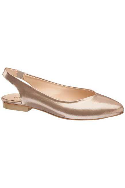 Graceland - Rose Gold Ballet Flats, Women
