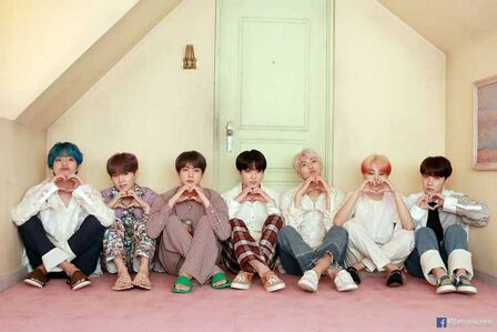 QUALIA - BTS Map Of Soul Persona Pink Poster