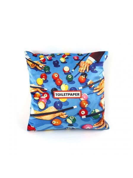 Seletti - Toiletpaper Cushion Cover Snooker