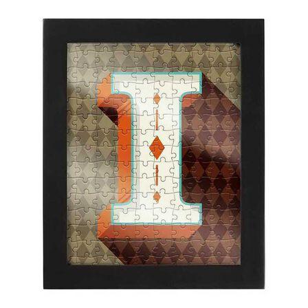 RIDLEYS - Ridleys Alphabet Jigsaw Puzzle with Frame Letter I