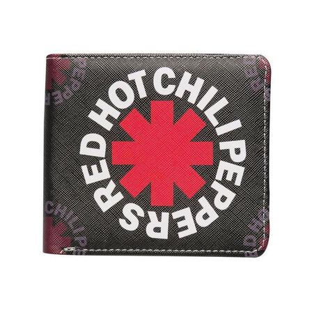ROCKSAX - Red Hot Chili Peppers Black Asterisk Wallet